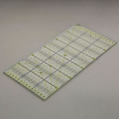 Transparent Rectangle Patchwork Ruler Qulting Sewing Cutting Tailor Tool 30*15cm