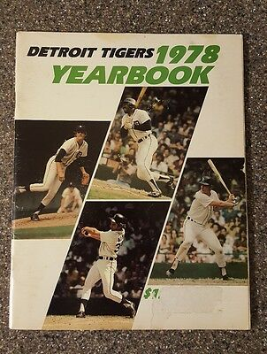 1978 Detroit Tigers Yearbook