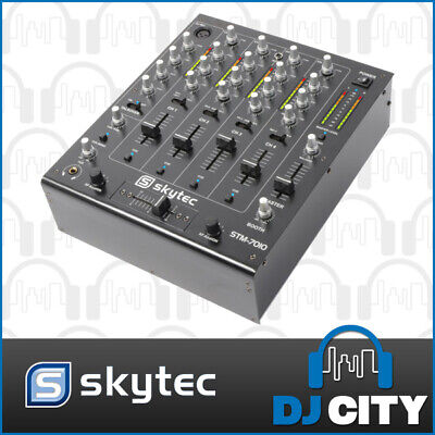 Vonyx STM-7010 4-Channel DJ PA Party Mixer with USB Audio Soundcard - NEW