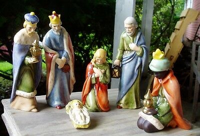 Goebel 10 Piece Nativity Set, Large Figurines, Mint Cond. Checkout All Pictures