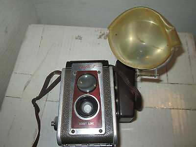 Vintage 1950's Eastman Kodak Duaflex IV Camera with Flash, takes 620 Film