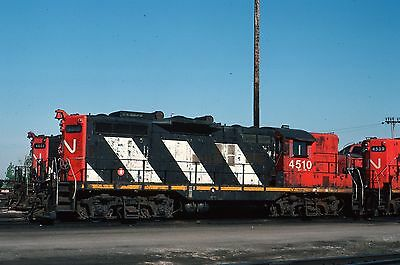 CN GP9 4510  roster - Original Kodachrome slide