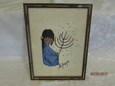 DeGrazia Festival of Lights Needlepoint Canvas