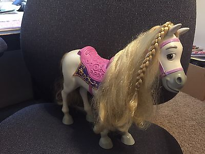 """Tangled Rapunzel Horse Maximus With """"Hair"""" for 15"""" My First Disney Princess Doll"""