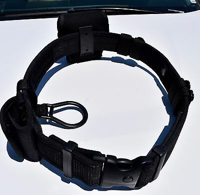 Uncle Mike's Police Duty Belt Medium With Key And Cuff Holders