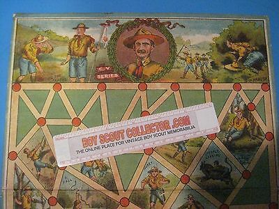 Boy Scout Vintage Chad Valley Scouting Game Board