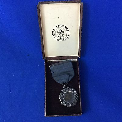 Boy Scout 1939 Pack 34 Medal With Original Box