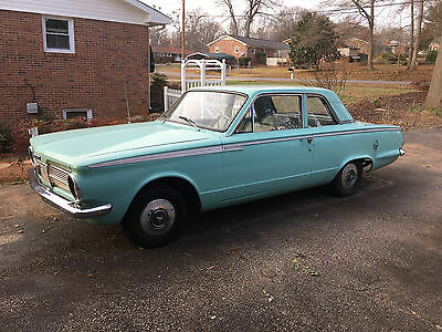 1965 Plymouth Other Chrome 1965 Plymouth Valiant  2 Two Door Teal Low Mileage Manual Gas Mopar Chrystler