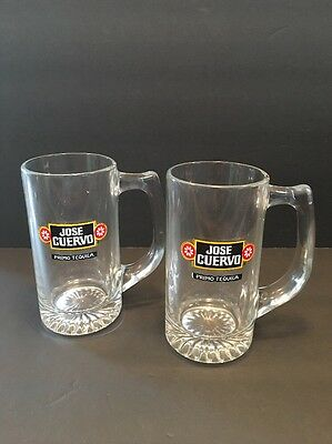 Jose Cuervo Tequila Glasses Drink Mugs Cocktails Margaritas Primo Tequila