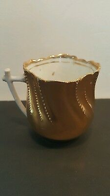 Antique Demitasse Cup ~ Stamped Made In Germany ~ Gold  Delicate Ornate