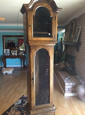 Vintage Grandfather Clock Case.   Only Case Not Clock