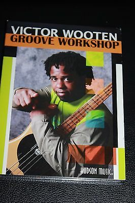 VICTOR WOOTEN GROOVE WORKSHOP Play BASS GUITAR How-To 2 DVD SET