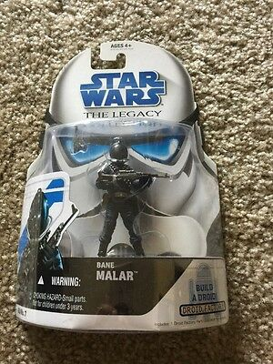 Star Wars The Legacy Collection Bane Malar Figure Bd#7 Droid Factory R7-Z0-Nib