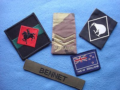NEW ZEALAND Army Patch LOT very rare Afghanistan ISAF IFOR SFOR KFOR ?!?!?