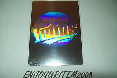 Minnesota Twins Hologram 1991 Baseball Card