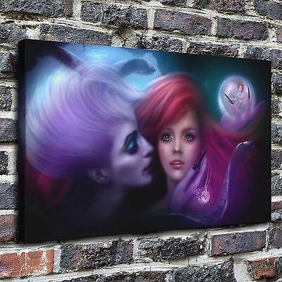 The little mermaid Painting HD Print on Canvas Home Decor Wall Art Pictures