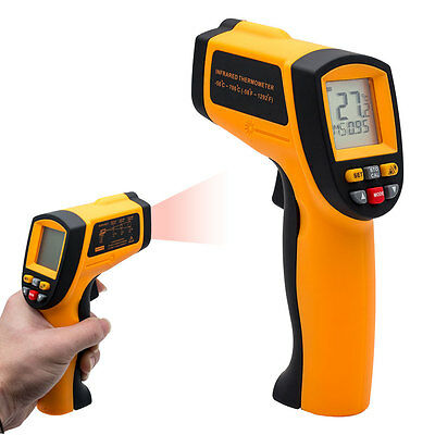 -50~700℃ LCD Non-Contact IR Infrared Thermometer Handheld Laser Temperature Gun