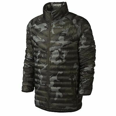 Nike Guild 550 Down Fill Jacket Men's Size Large New With Tags $230 Camo NWT