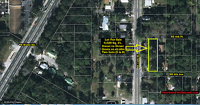 Attn Builders/Investors - Street to Street Home Lot in Gainesville Florida NR FL