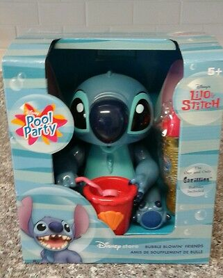 Lilo And Stitch Bubble Blowing Friends Toy Bubble Machine Tested and Works!