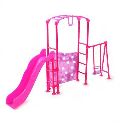 Miniature Playground Slide Climber for Barbie Kelly Doll House Furniture