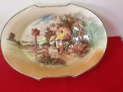 Large Royal Doulton Bowl -Rustic England -Series Ware D5694 ,mint condition