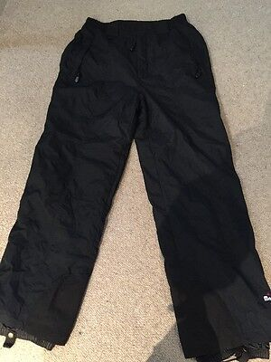 New Without Tags Designer Mambo Grey Lined Snowboard Ski Waterproof Pants 16