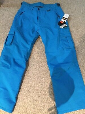 New With Tags Designer Crane Thinsulate  Lined Snowboard Ski Waterproof Pants Xl