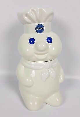 Pillsbury Doughboy Cookie Jar Canister Benjamin and Medina 1998 12""