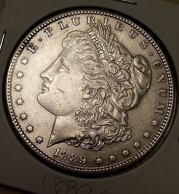 1889 S Morgan Silver Dollar! WOW! You grade! Great Details! Free Shipping!