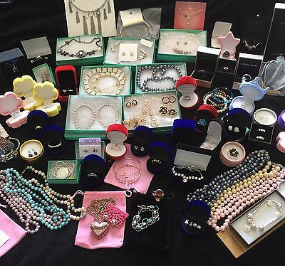 Wholesale Jewelry Sterling Silver Pearls BeBe Kate Spade Kenneth Cole 155 Pcs