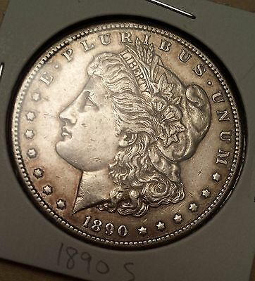 1890 S Morgan Silver Dollar! WOW! You grade! Great Details! Free Shipping!