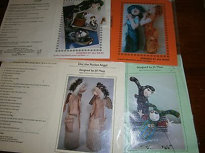 4  Jill Maas  cloth doll patterns