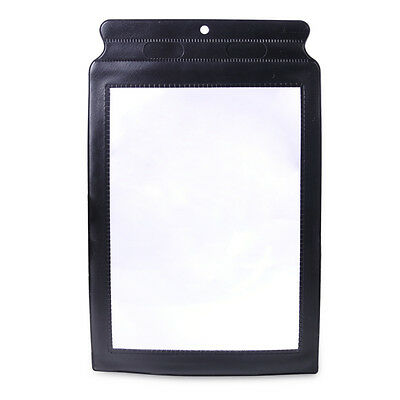 New 3X Big A4 Full Page Magnifier Sheet Magnifying Glass Reading Aid Lens