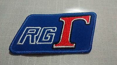 (V4-A*) 1986  Rg500 Rg250 Gamma Motorcycle Embroidered Patch