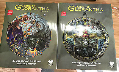 Guide to Glorantha Two Volume Slipcase Edition