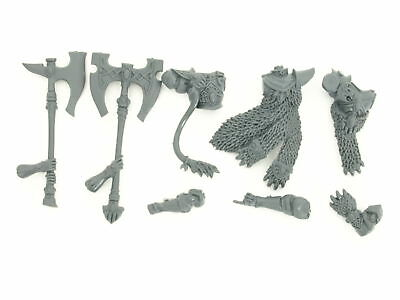 High Elf White Lions of Chrace - Torso B with Great Axe / Champion - *BITS*