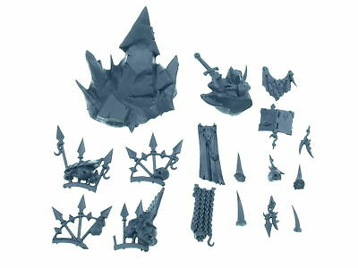 Chaos Terminator Lord / Sorcerer - Accessoires Pack  - Bits