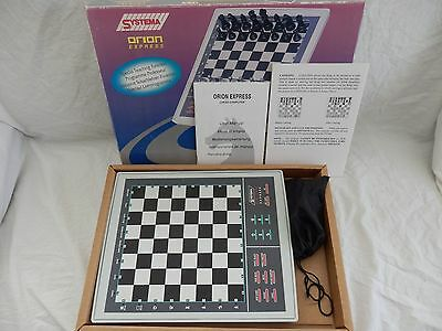 Systema Orion Express 72 Level Chess Computer Electronic Game