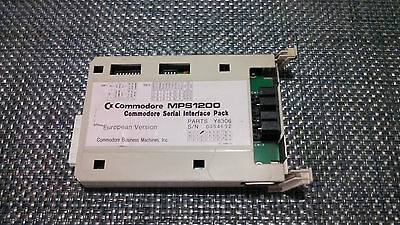 Commodore MPS1200 Serial Interface