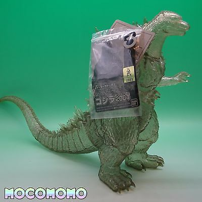 GODZILLA 2004 limited clear color BANDAI vintage monster figure from Japan !!