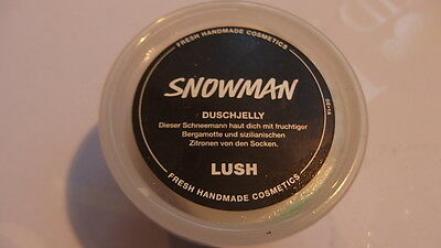 Lush // Snowman // Duschjelly // 100 Gramm // neu // MHD 2018 // Shower Jelly