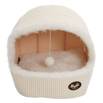New Luxury Pet Dog Cat Tent House Cat Bed Puppy Bed M8T7
