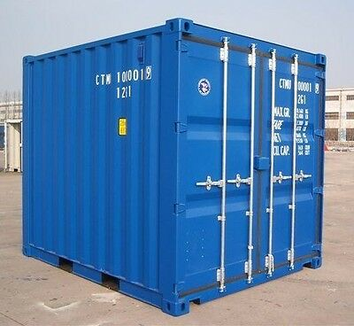 8ft Storage Container Hire/Rental - Available NATIONWIDE