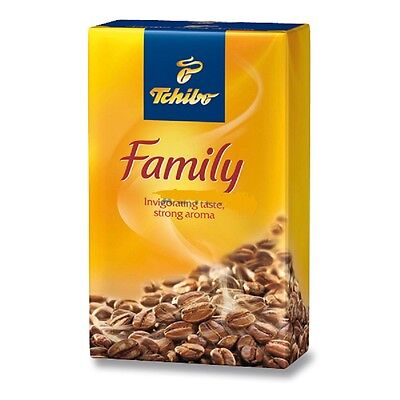Tchibo Family Strong Intensity German Ground Coffee