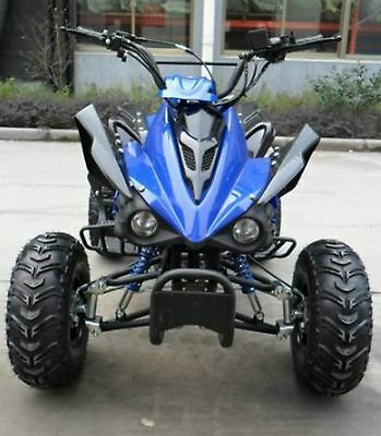 125cc 4 Stroke Quad Bike - (INTERCEPTOR) BLUE w/ Reverse