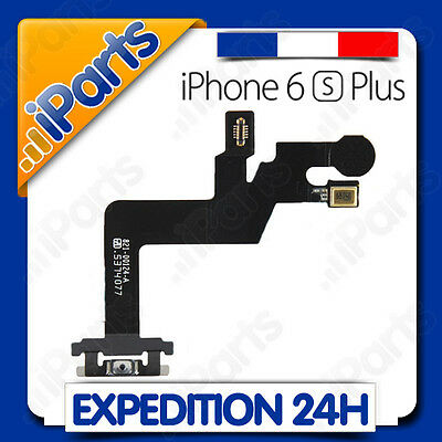 Nappe Bouton Power On / Off + Micro Externe + Flash Camera Iphone 6S Plus