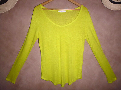 Womens Seed Long Sleeve Top Size M 12