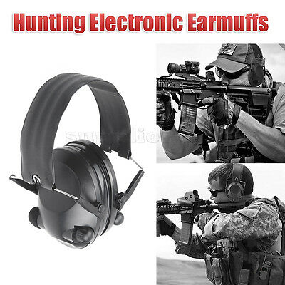 Pro Foldable Shooting Ear Muffs Electronic Earmuffs Ear Protection Hunting Sport