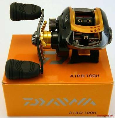 DAIWA  AIRD 100H - 6.4:1 Low Profile Baitcaster Reel - BOXED BRAND NEW !!!
